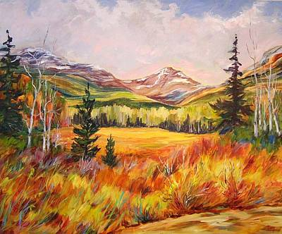Painting - High Country Meadow   by Nancy Day