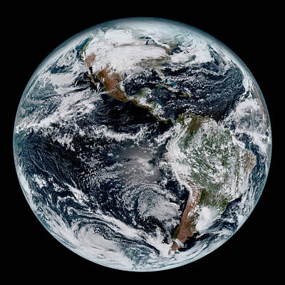 Photograph - High Definition Earth by Mark Kiver