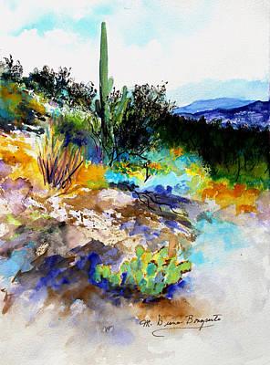 High Desert Scene Art Print