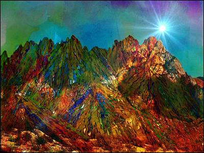 Digital Art - High Desert Colors by Barbara Chichester
