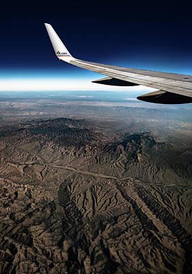 Photograph - High Desert From High Above by T Brian Jones