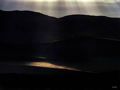 Photograph - High Desert Light by Leland D Howard