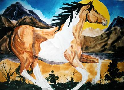 Wall Art - Painting - High Desert Paint by Cheryl Bishop
