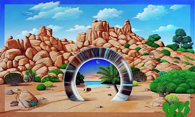 High Desert Portal Art Print