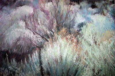 High Desert Seduction Art Print by Anita Stoll