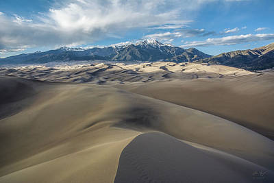 Photograph - High Dune - Great Sand Dunes National Park by Aaron Spong
