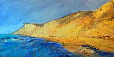 Encaustic Painting - High Dunes At Longnook by Marc Kundmann