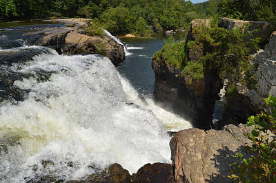 Photograph - High Falls Alabama by rd Erickson