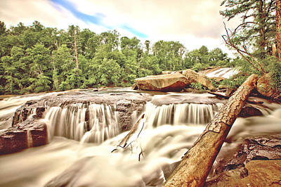 Photograph - High Falls by Gordon Elwell