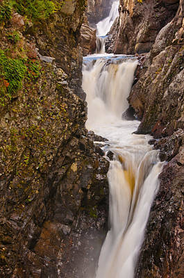 Photograph - High Falls Gorge by Brenda Jacobs