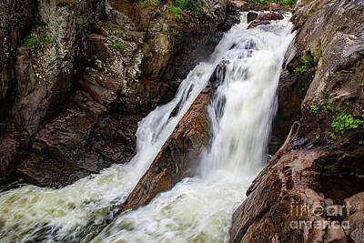 Photograph - High Falls Gorge - Main Falls by Brad Marzolf Photography