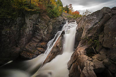 Photograph - High Falls Gorge Wilmington Ny New York First Waterfall by Toby McGuire
