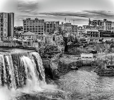 Photograph - High Falls Neighborhood by William Norton