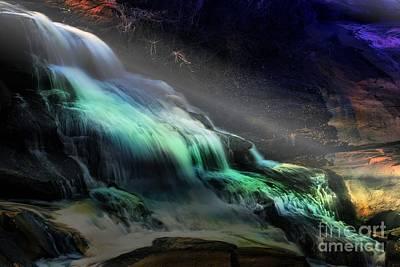 Photograph - High Falls Sunset by Rick Lipscomb