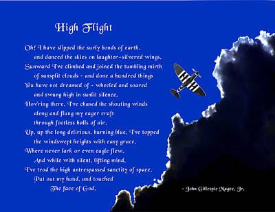 High Flight Art Print