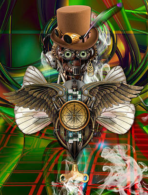 Mixed Media - High Flyer by Marvin Blaine