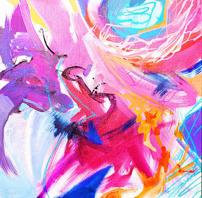 Painting - High Flying by Expressionistart studio Priscilla Batzell
