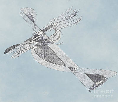 Digital Art - High Flying by Iris Gelbart