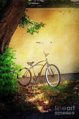 Photograph - High Handle-bar Bicycle by Craig J Satterlee