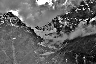 Photograph - High Himalaya Glacier by Kim Bemis