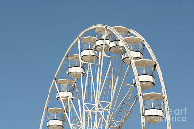Photograph - High In The Blue Sky 2 by Steve Purnell