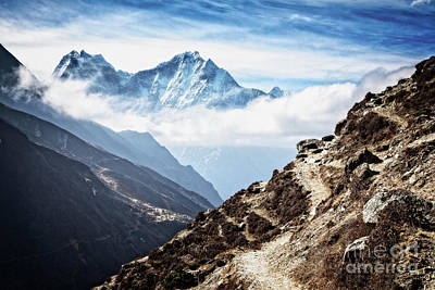 High In The Himalayas Art Print