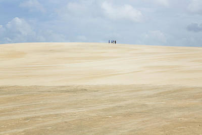 Photograph - High In The Sky On Jockey Ridge by Fran Gallogly