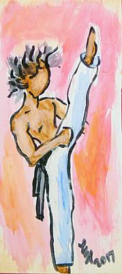 Painting - High Kick by Loretta Nash