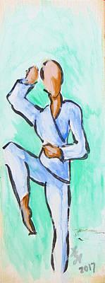 Painting - High Knee by Loretta Nash