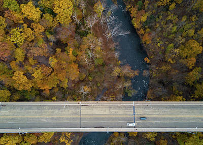 Photograph - High Level Bridge  by Tim Fitzwater