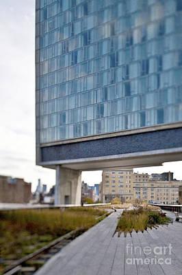 High Line Park And Hotel Art Print by Eddy Joaquim