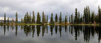 Photograph - High Mountain Lake by David Andersen