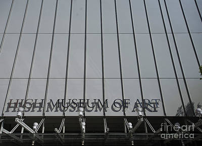Photograph - High Museum Of Art by David Bearden