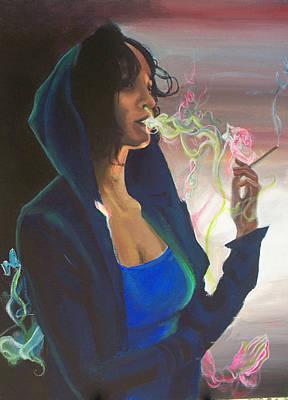 High On Life Print by Lauren Penha