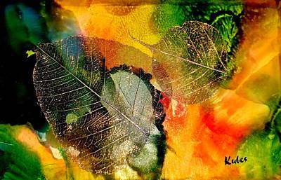 Autumn Mixed Media - High On Nature by Susan Kubes