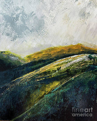 Painting - High Pastures by Susan Cole Kelly Impressions