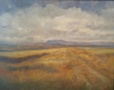 Painting - High Plains Harvest by Joe Leahy