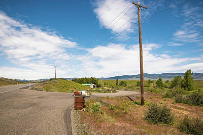 Photograph - High Plains Mail Box by Tom Cochran
