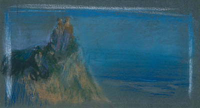 Pastel - High Point by Arthur Bowen Davies