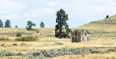 Photograph - High Prairie Home by Lynn Hansen