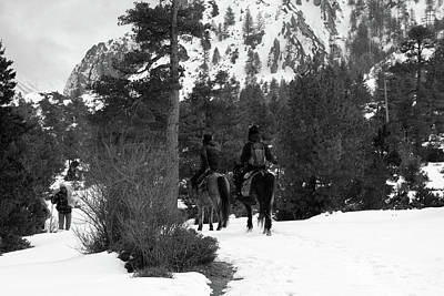 Photograph - High Mountain Riders by Aidan Moran