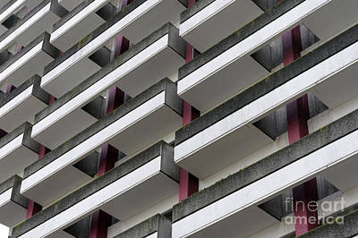 Photograph - High Rise Balconies by John  Mitchell