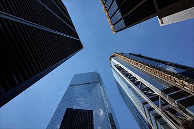 Photograph - High Rises Lower Manhattan by Robert Ullmann