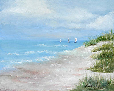 High Sails Art Print by Shirley Lawing