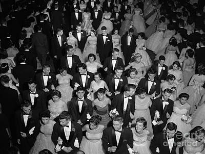 High School Prom, C.1950s Art Print by H. Armstrong Roberts/ClassicStock