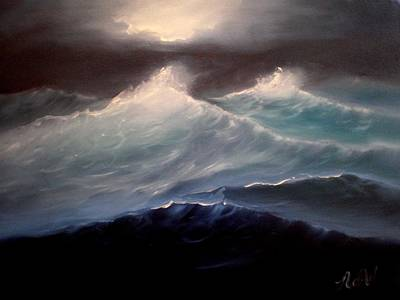 Painting - High Seas by Natascha de la Court