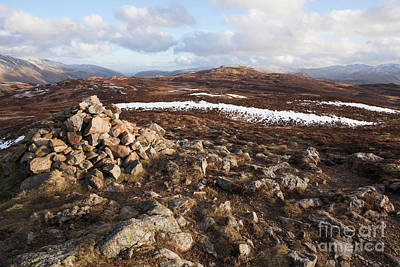 Photograph - High Seat From Bleaberry Fell by Gavin Dronfield