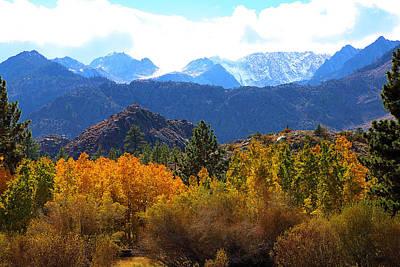 High Sierra Fall Colors Art Print