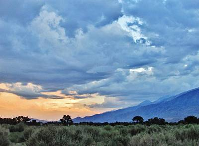 Photograph - High Sierra Sundown by Marilyn Diaz