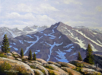 Painting - High Sierras Study by Frank Wilson